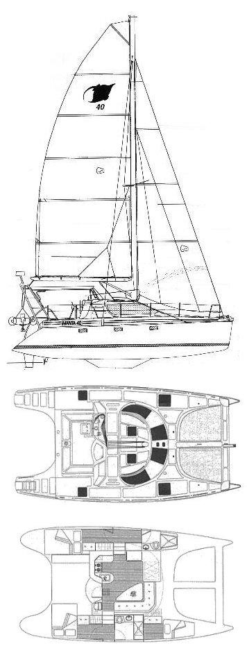 MANTA 40 drawing