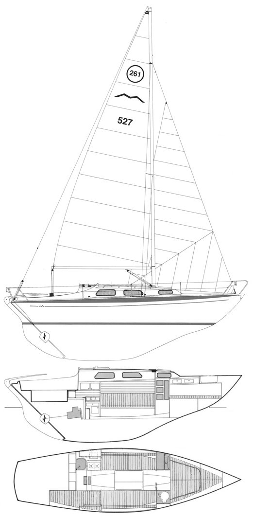 MARIEHOLM 261 drawing
