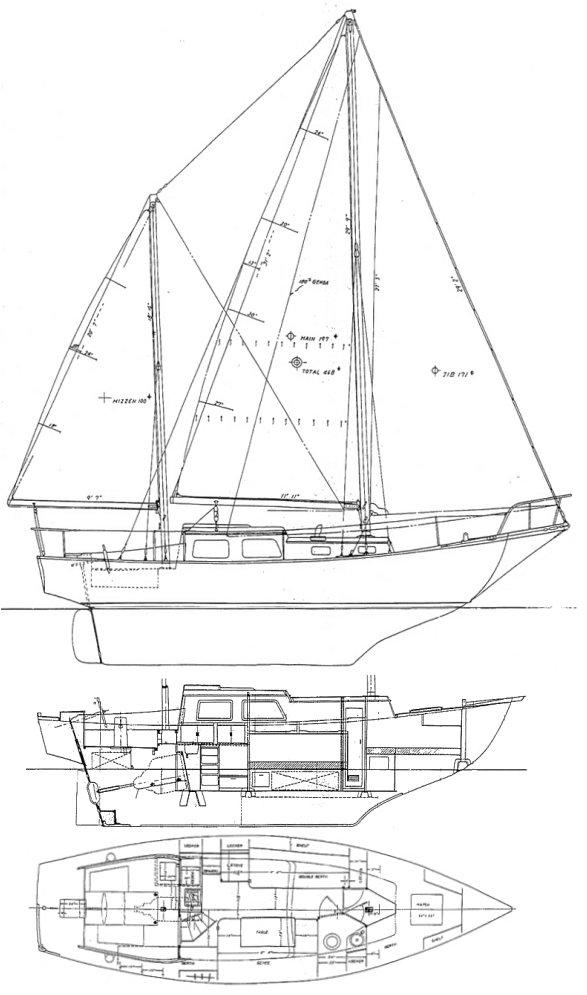 MARINER 31 drawing