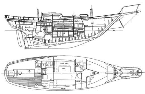 MARINER 35 (GARDEN) drawing