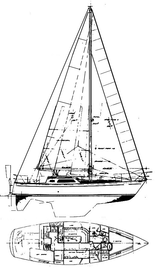 MARINER 39 (PERRY) drawing