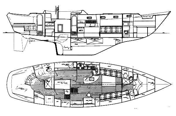 MARINER 48 (STADEL) drawing