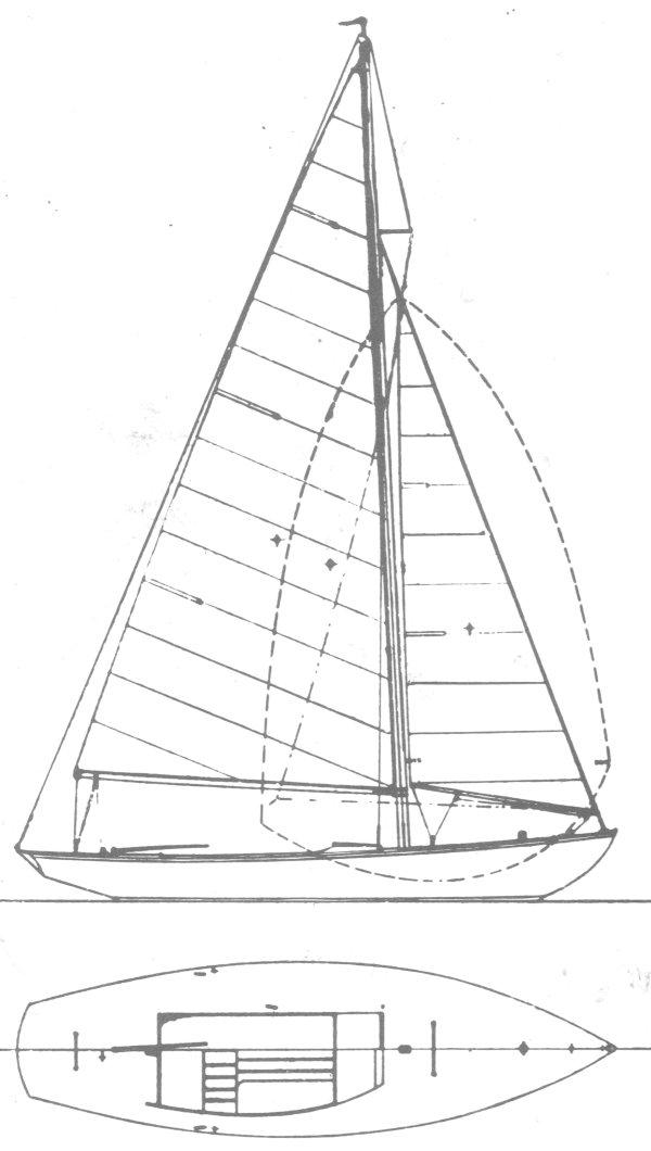 MARLIN 18 (RHODES) drawing