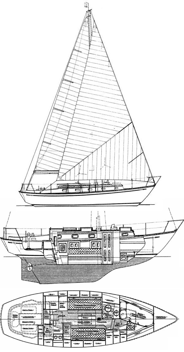 MASON 33 sailboat specifications and details on