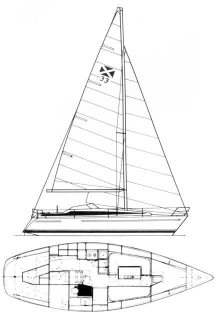 MAXI 33 drawing