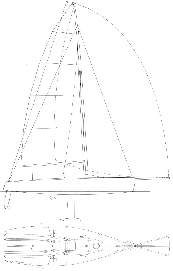 MELGES 30 drawing