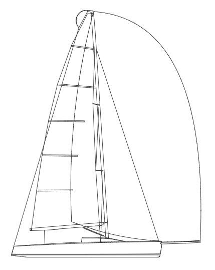 MELGES 32 drawing