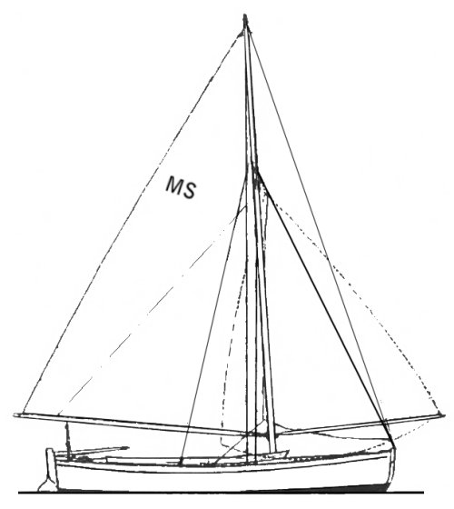 Menai Straits One Design drawing on sailboatdata.com