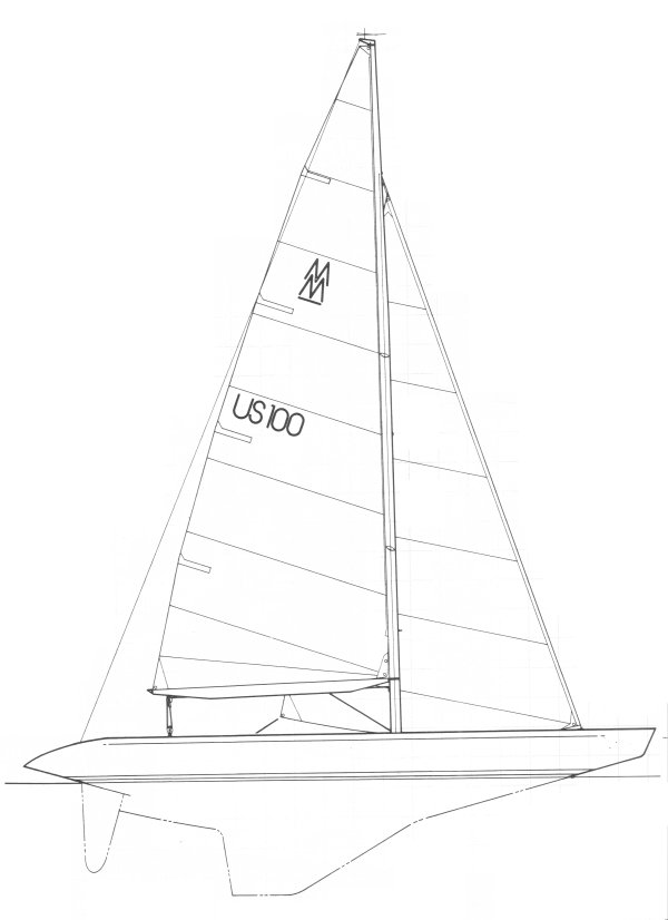 MilliMeter drawing on sailboatdata.com
