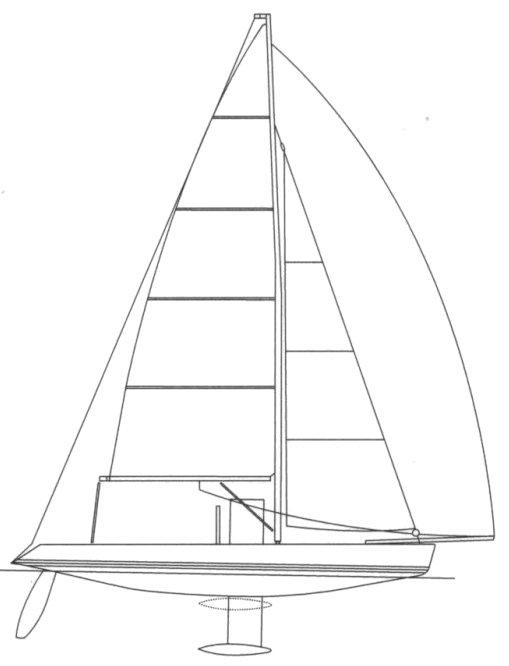 MINI JOD (JEANNEAU) drawing