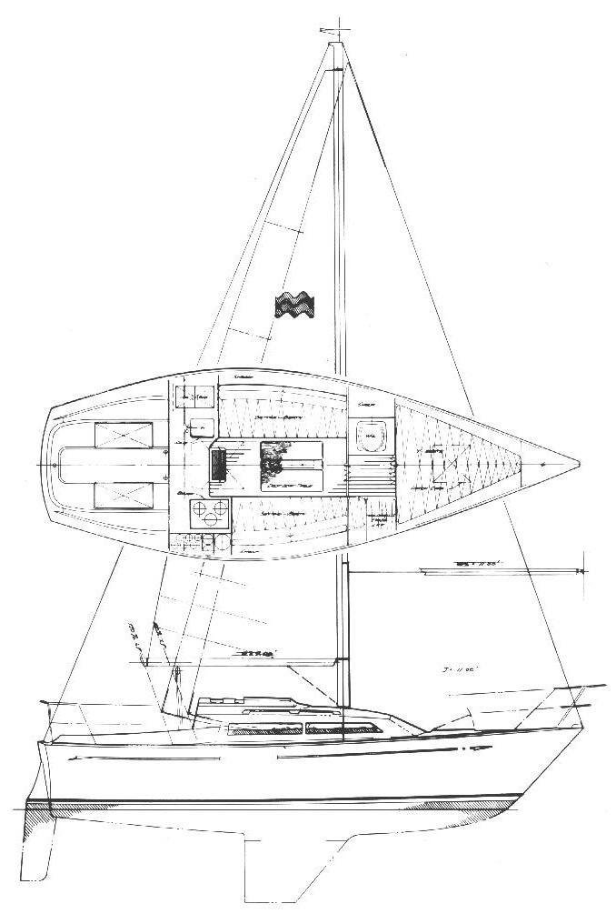 MIRAGE 26 (PERRY) drawing