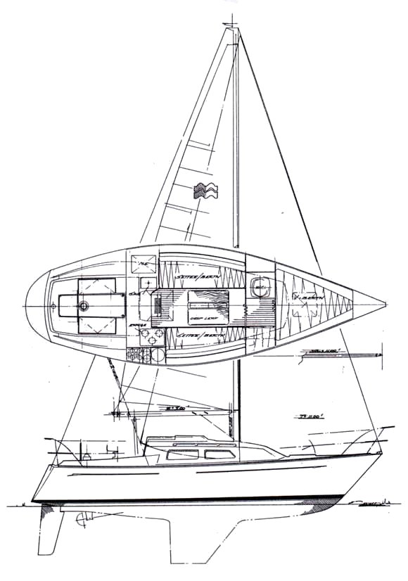 MIRAGE 27 (PERRY) drawing