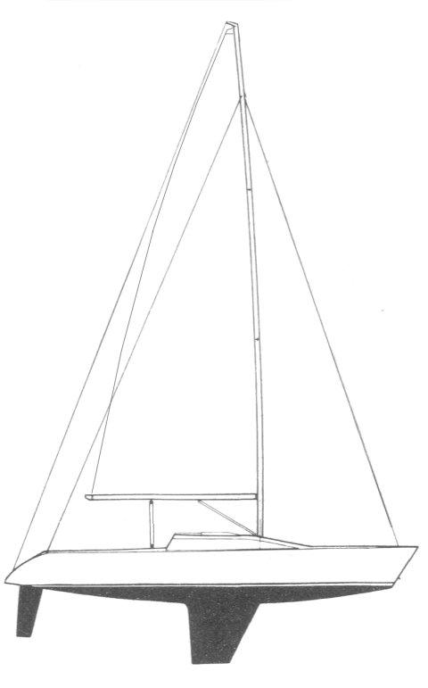 MIRAGE 338/34 drawing