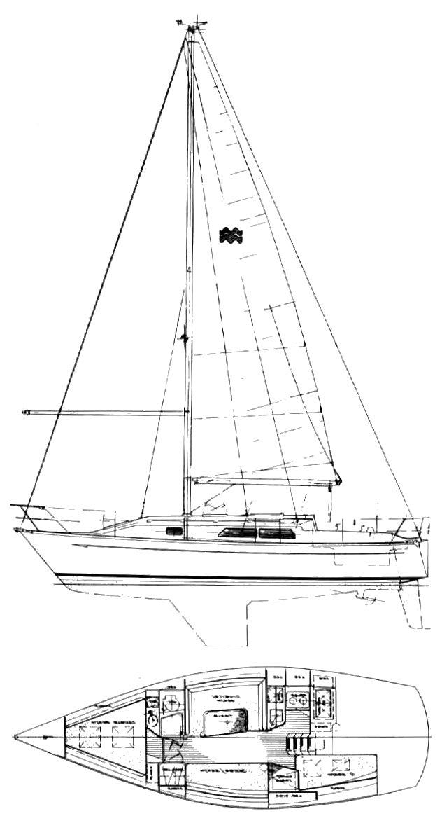 MIRAGE 33 drawing