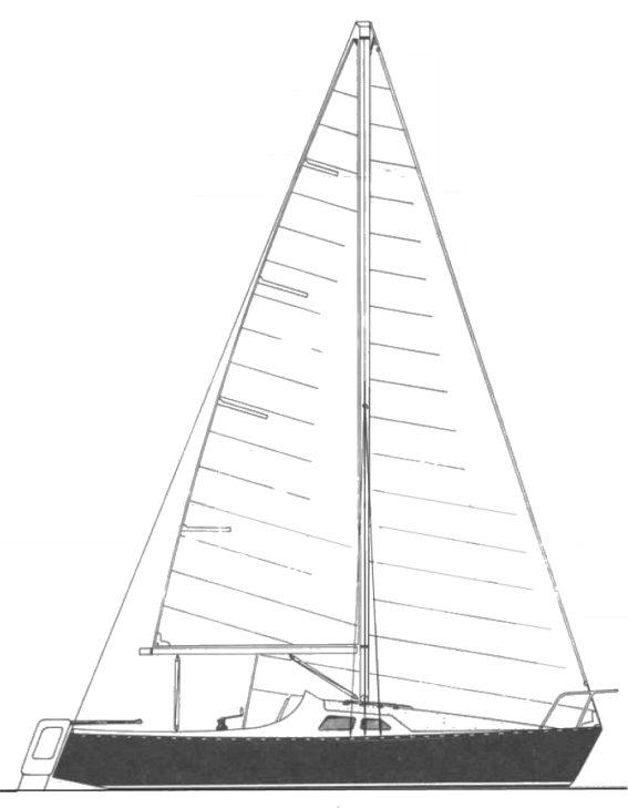 MIRAGE 5.5 drawing