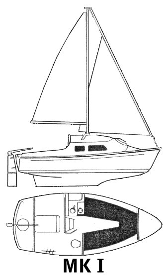 Mirror Offshore (Mk I) drawing on sailboatdata.com