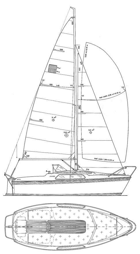 MONARK 540 drawing