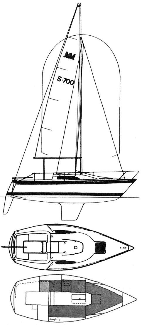 MONARK 700 drawing