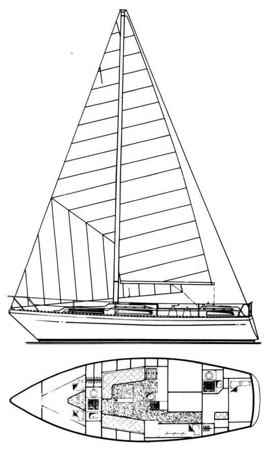 MOODY 36-1 drawing