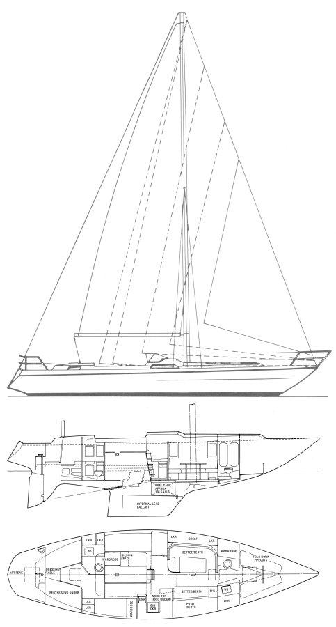 MOODY 44-1 drawing