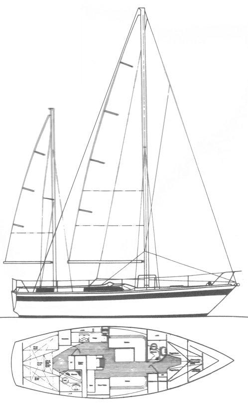 GRENADIER 119 (MOODY) drawing