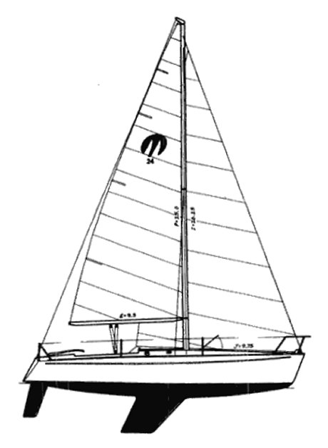MOORE 24 drawing