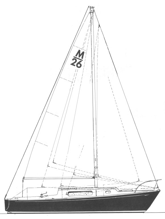 MORGAN 26 drawing