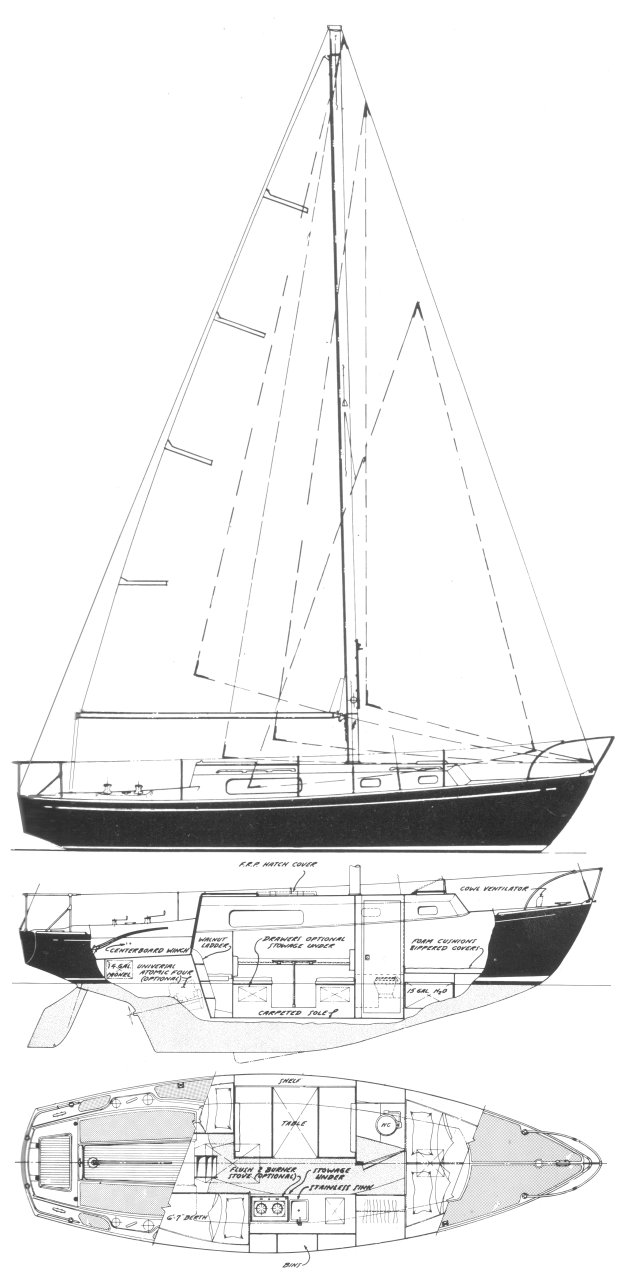 MORGAN 30 drawing