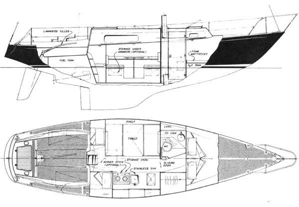 MORGAN 33 drawing
