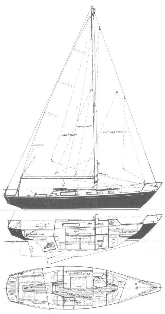 MORGAN 34 drawing