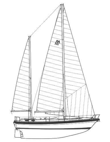MORGAN OUT ISLAND 416 drawing