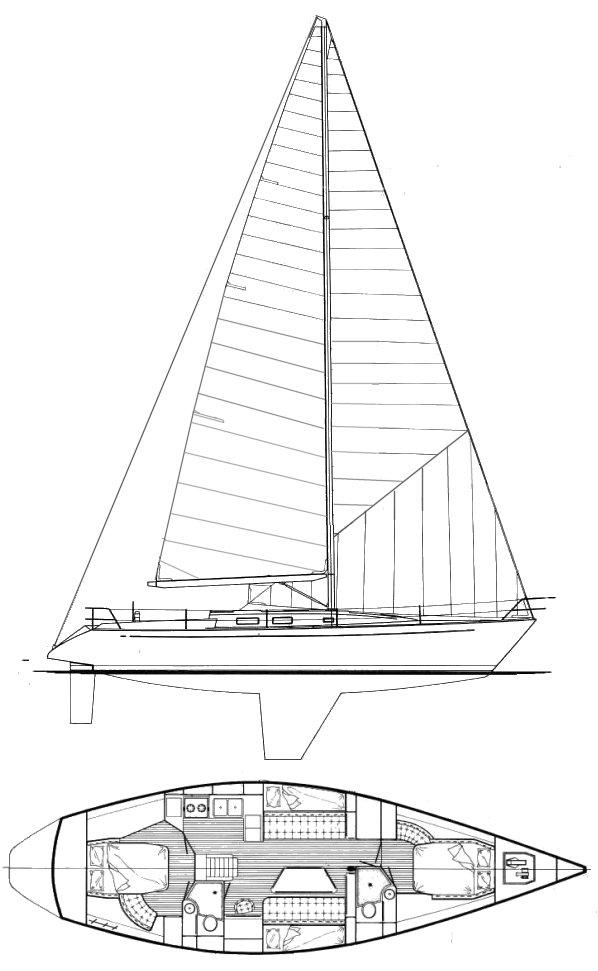 MORGAN 45-4 drawing