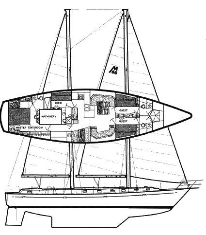 MORGAN 60 drawing