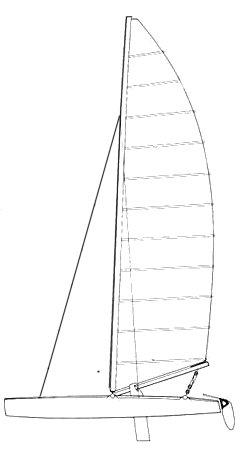 NACRA 5.5 (18 SQ. METER) drawing