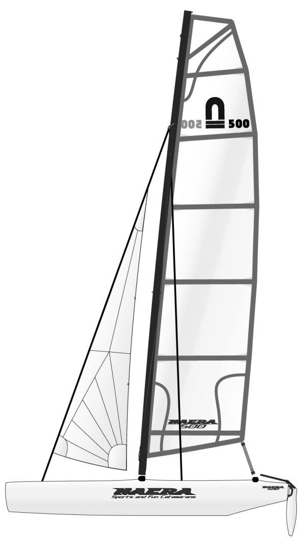 NACRA 500 drawing