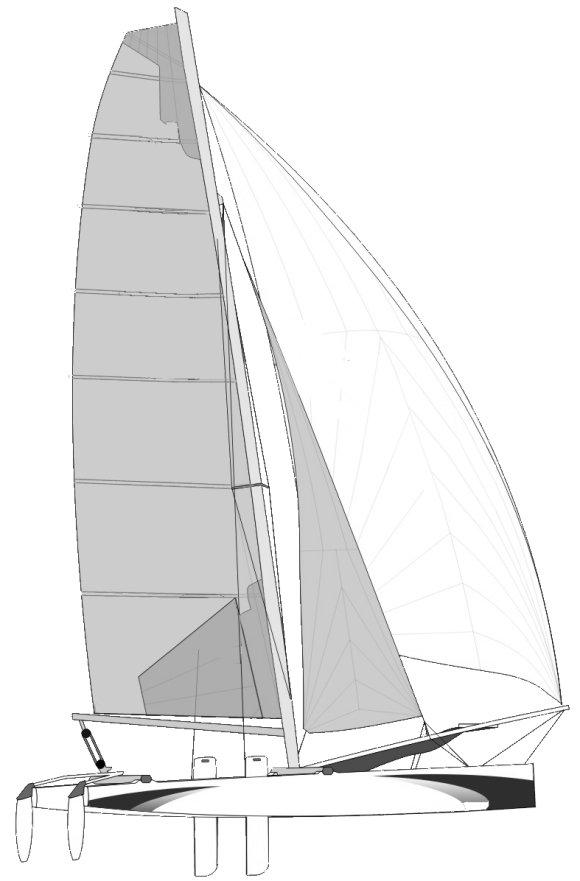 NACRA FORMULA 18 drawing