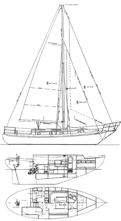 NASSAU  34 drawing