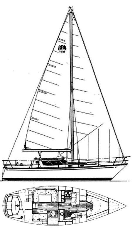 NAUTILUS 11M drawing