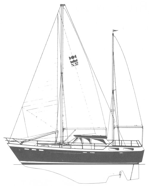 NELSON 37 drawing