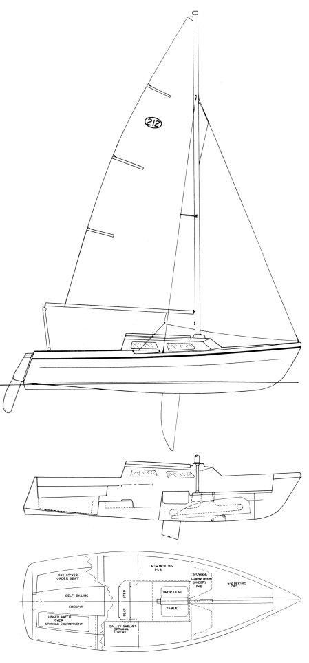 NEWPORT 212 drawing
