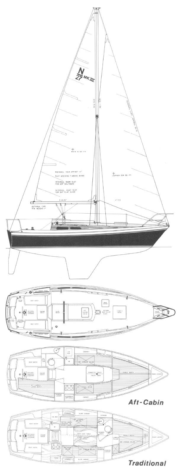 NEWPORT 27-3 drawing