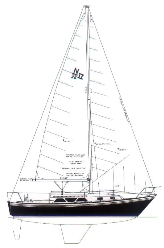 NEWPORT 28-2 drawing
