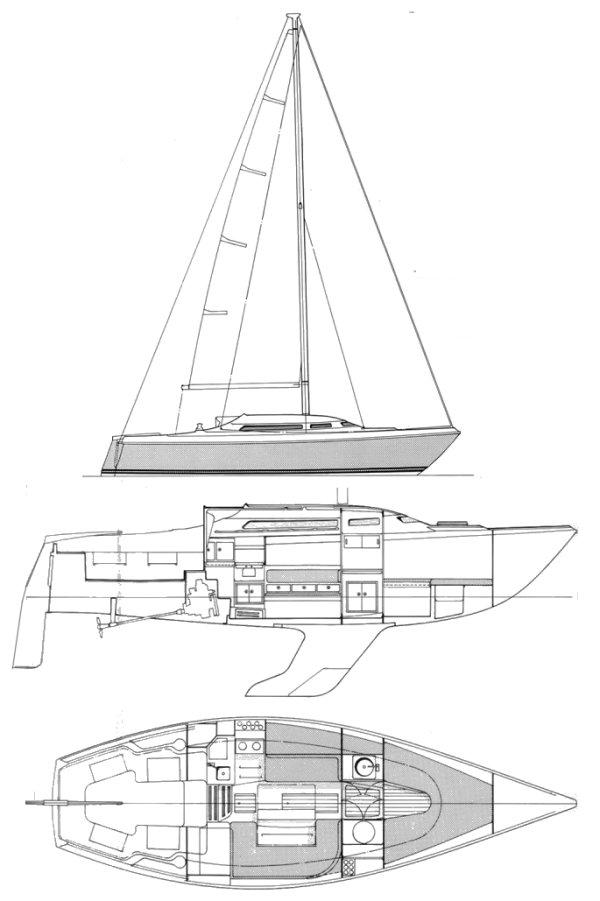 NICHOLSON 30 MKII drawing