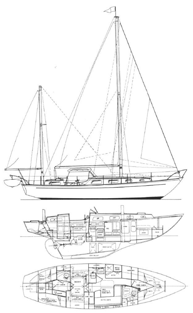 NICHOLSON 38 drawing