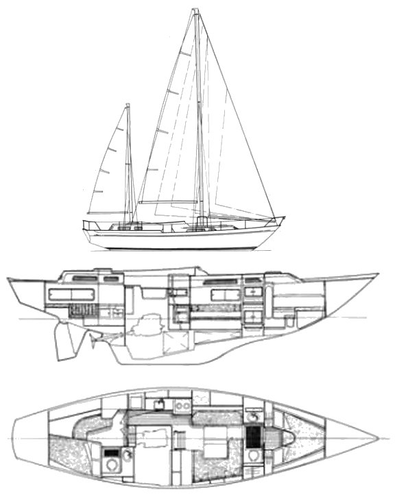 NICHOLSON 44 drawing