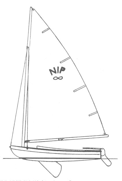 Nipper drawing on sailboatdata.com