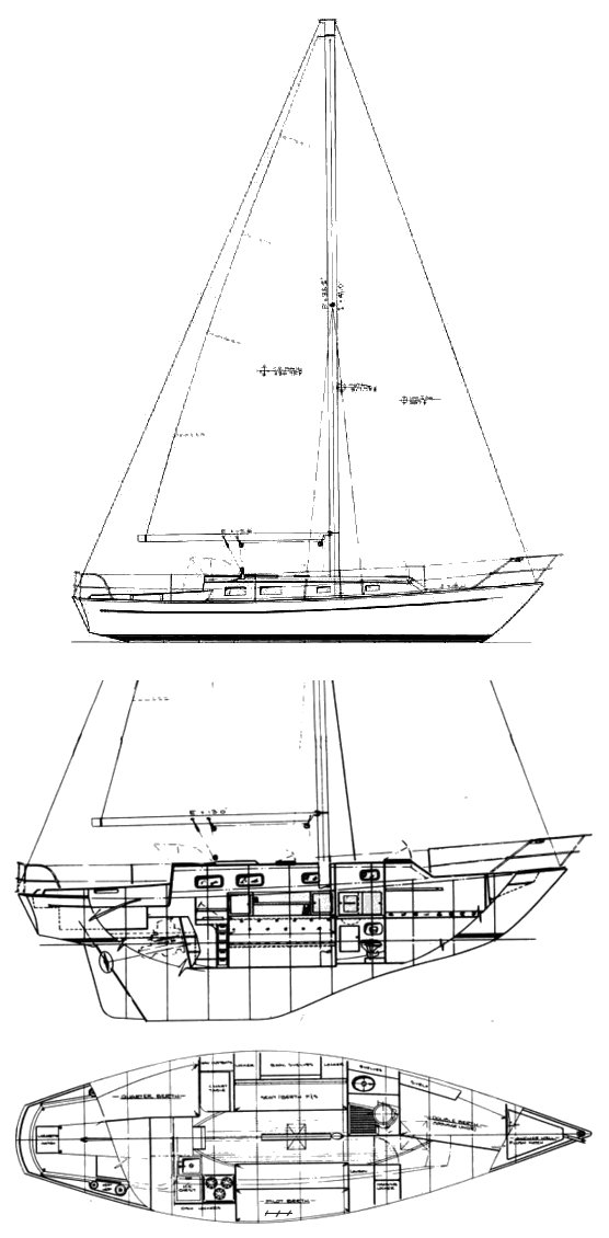 NOR'WEST 33 drawing