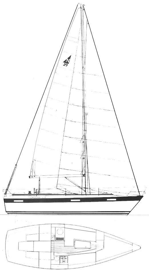 NORDSHIP 29 drawing