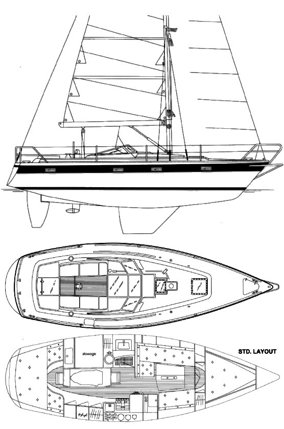 NORDSHIP 35 drawing