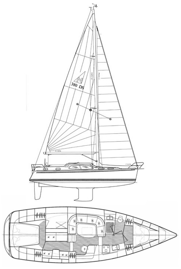 NORDSHIP 380 DS drawing